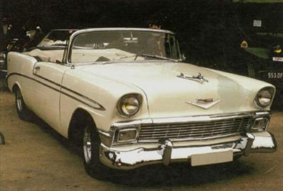 Chevrolet Bel Air Convertible on 1956 Chevy 235 Engine Hp